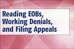 reading eobs, denials and appeals book image