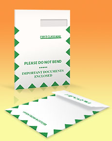 claim form envelopes